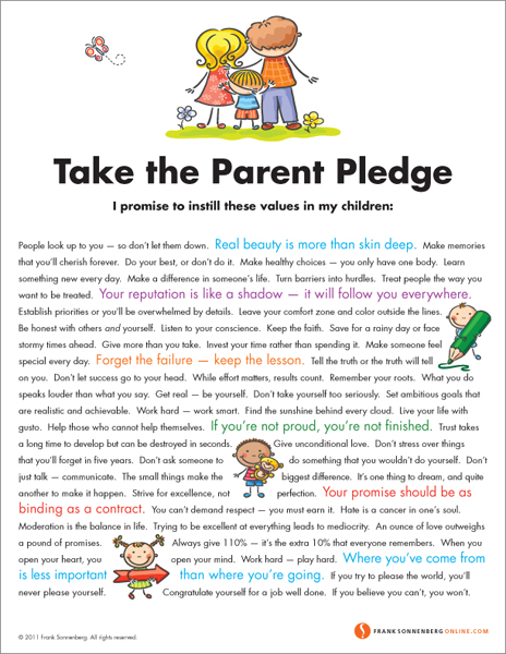 Take the Parent Pledge
