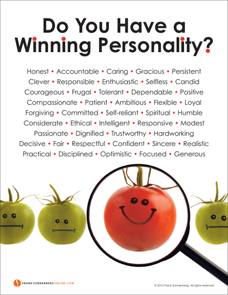 These are the traits of a winning personality.