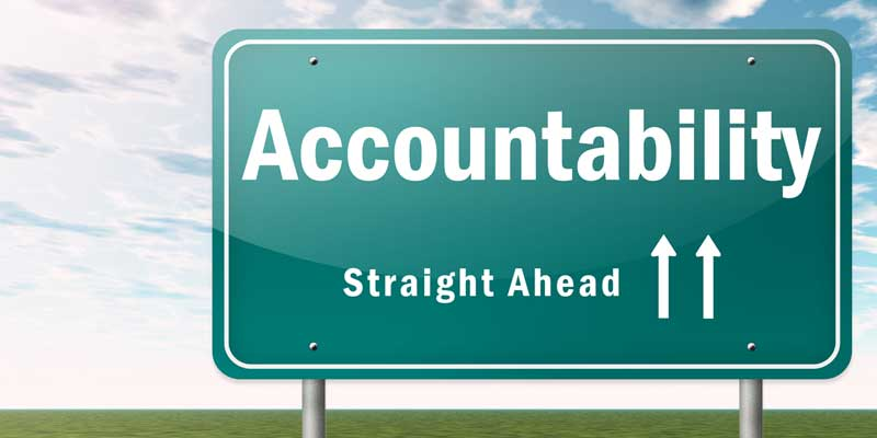 Personal Responsibility: The Buck Stops with You
