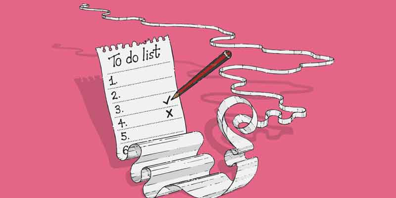to-do list, priorities, organization