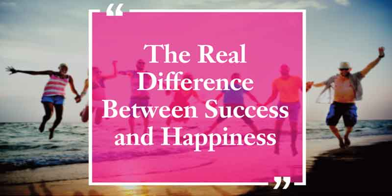 Difference between success and happiness, success, happiness, Frank Sonnenberg