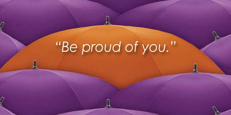 make yourself proud, proud, pride, Frank Sonnenberg