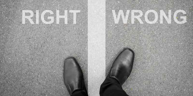 Are You Blurring the Line Between Right and Wrong?