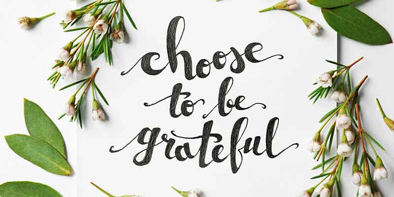 grateful, count your blessings, give thanks, do you take things for granted, consider yourself fortunate, things to be grateful for, why you should be grateful, Frank Sonnenberg